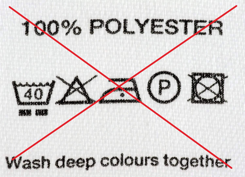 Trujące związki chemiczne w ubraniach - 100% Poliester = 100% trucizny