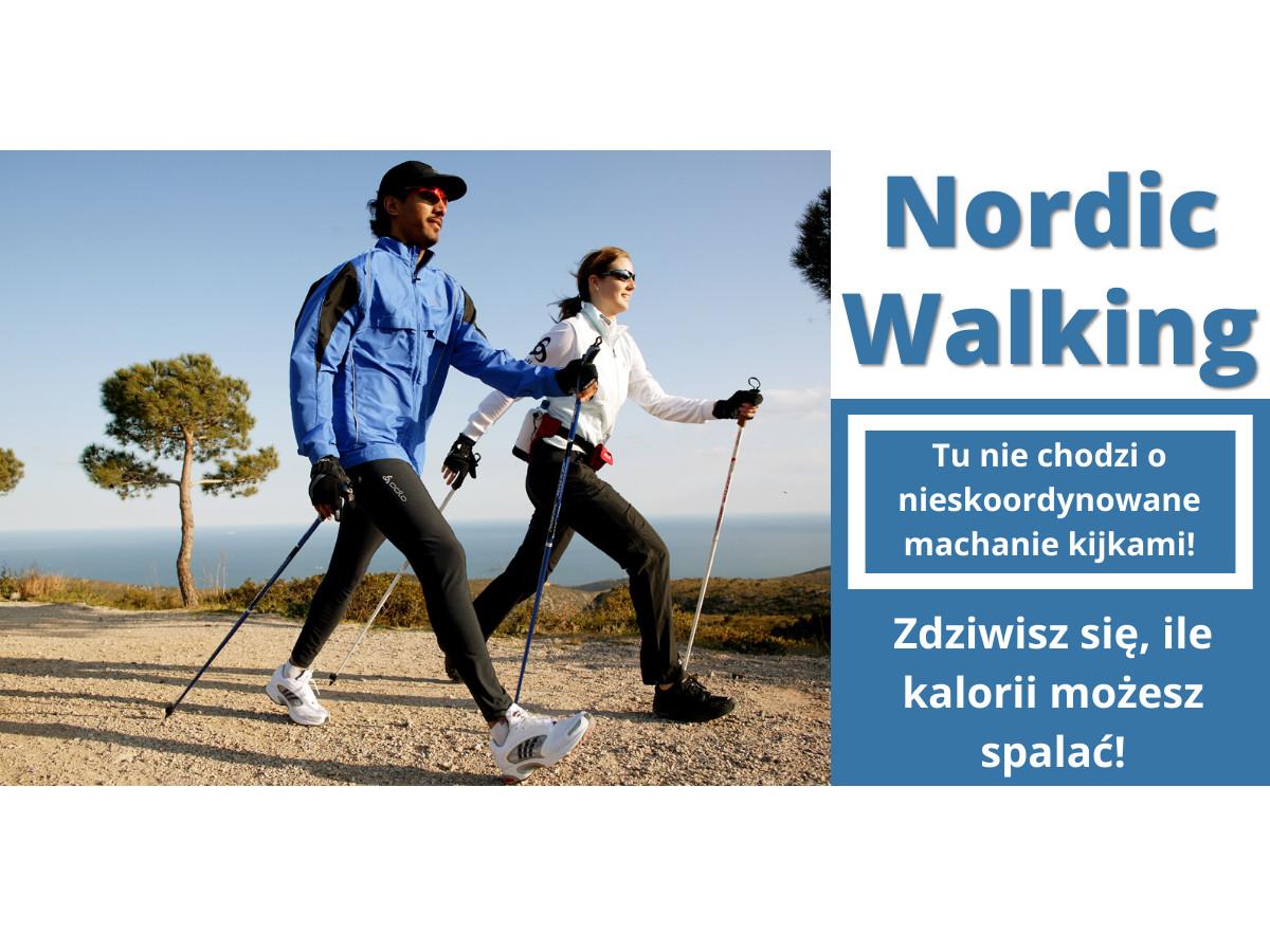 Ile można schudnąć uprawiając nordic walking