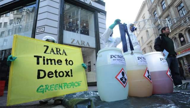 Trujące związki chemiczne w ubraniach marki Zara